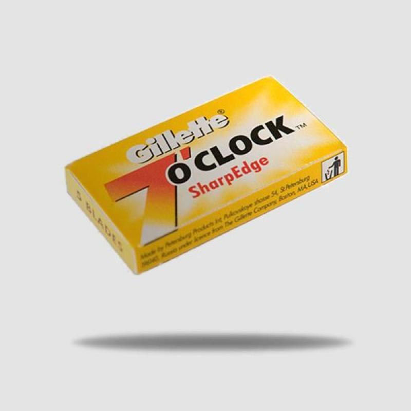 Ανταλλακτικές Λεπίδες Ξυρίσματος - Gillette 7 Oclock - Sharpedge 1 X 5
