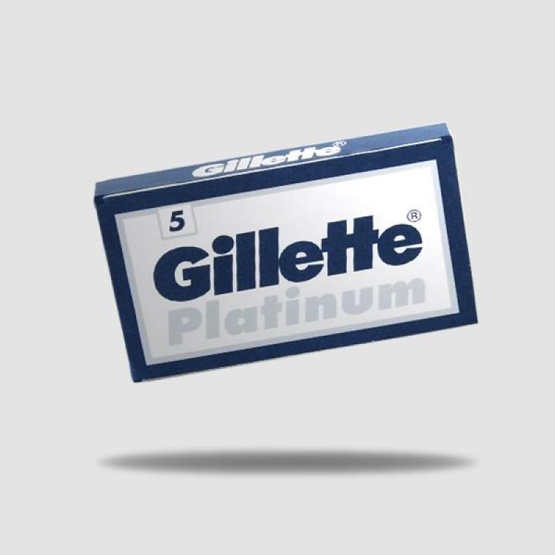 Ανταλλακτικές Λεπίδες Ξυρίσματος - Gillette - Platinum 1 X 5