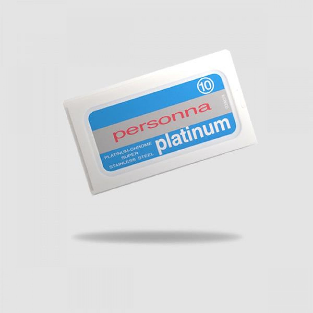 Ανταλλακτικές Λεπίδες Ξυρίσματος - Personna - Platinum 1 X 10