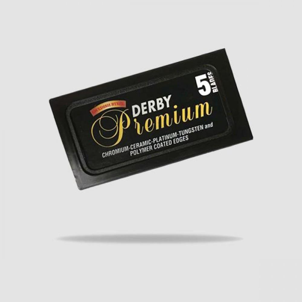Ανταλλακτικές Λεπίδες Ξυρίσματος - Derby - Black Premium 1 X 5
