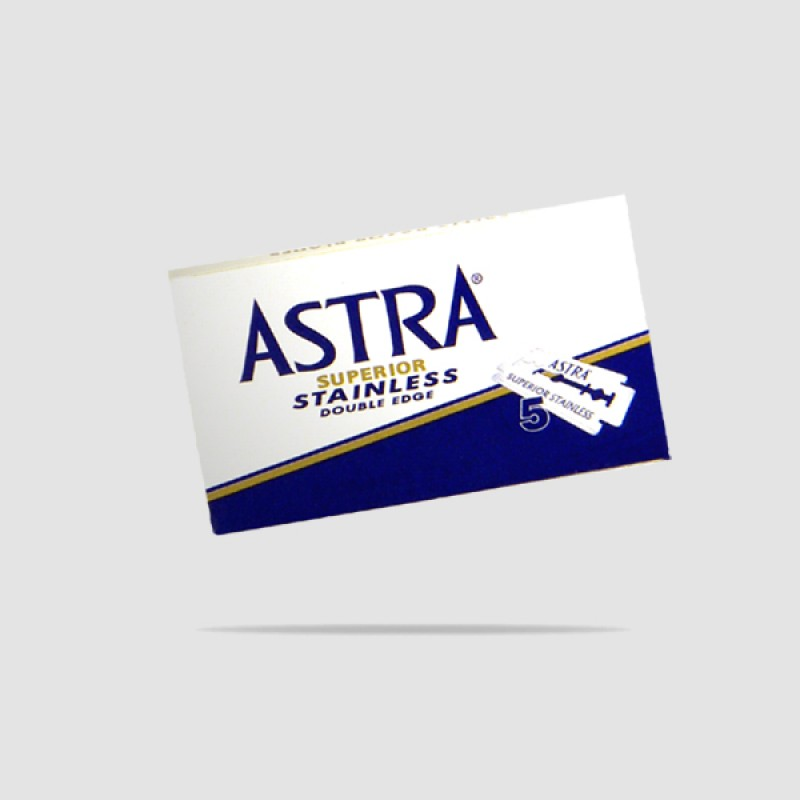 Ανταλλακτικές Λεπίδες Ξυρίσματος - Astra - Superior Blue Platinum 1 X 5