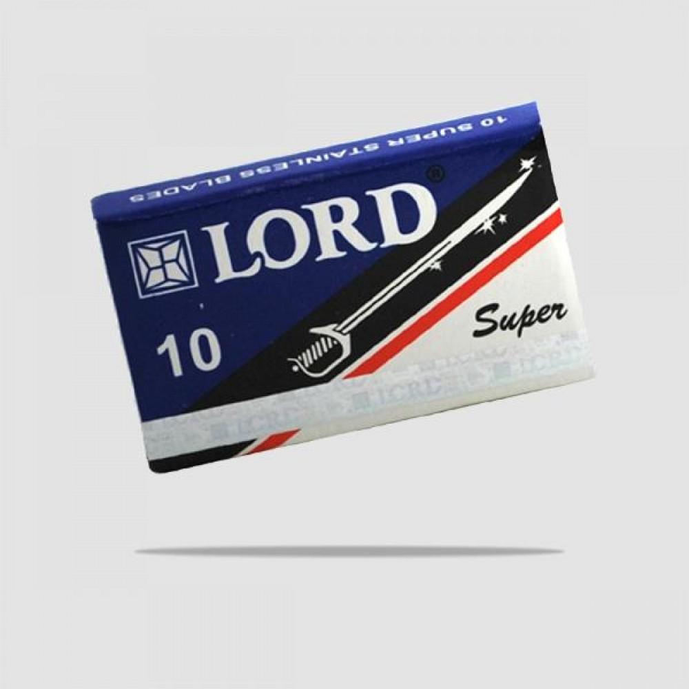 Ανταλλακτικές Λεπίδες Ξυρίσματος - Lord - Super Inox 1 X 10