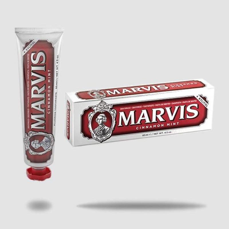 Οδοντόκρεμα - Marvis - Κανέλα Και Μέντα + Xylitol 85ml