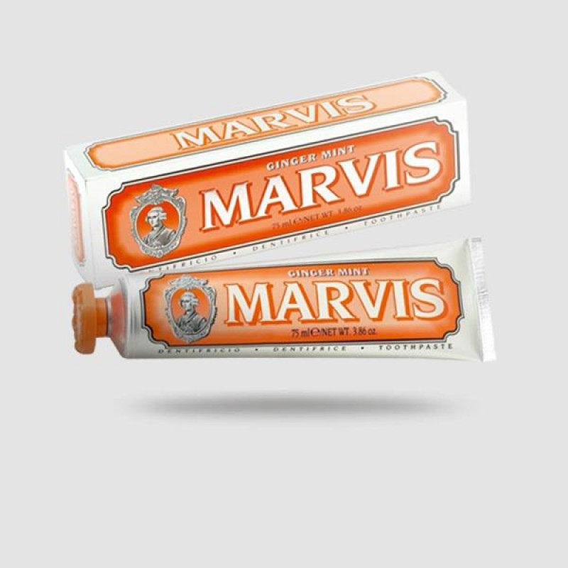 Οδοντόκρεμα - Marvis - Τζίντζερ Και Μέντα + Xylitol 85ml