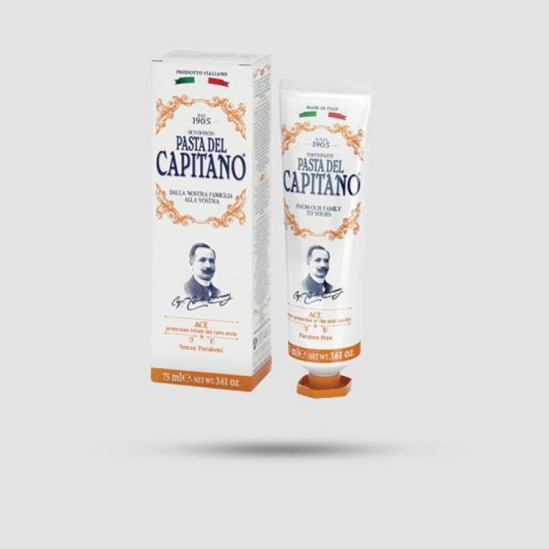 Οδοντόκρεμα - Pasta del Capitano 1905 - Ace 75ml