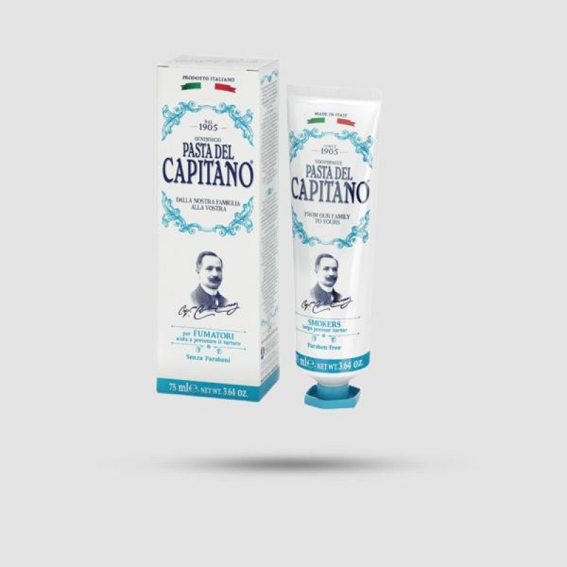 Οδοντόκρεμα - Pasta del Capitano 1905 - Smokers 75ml
