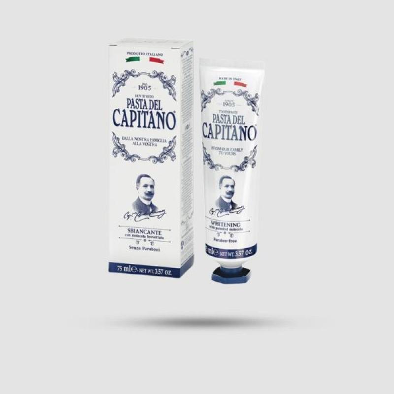 Οδοντόκρεμα - Pasta del Capitano 1905 - Whitening 75ml