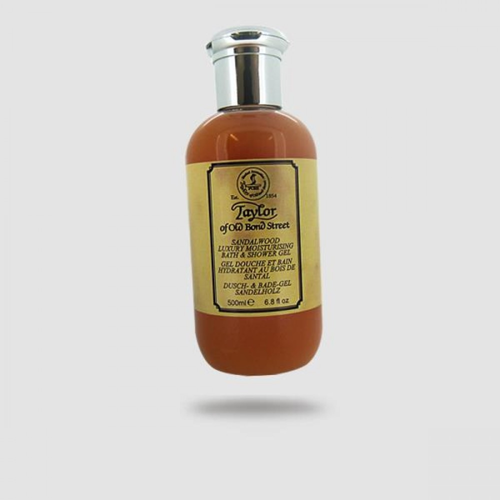 Αφρόλουτρο Τζελ - Taylor Of Old Bond Street - Sandalwood 500ml