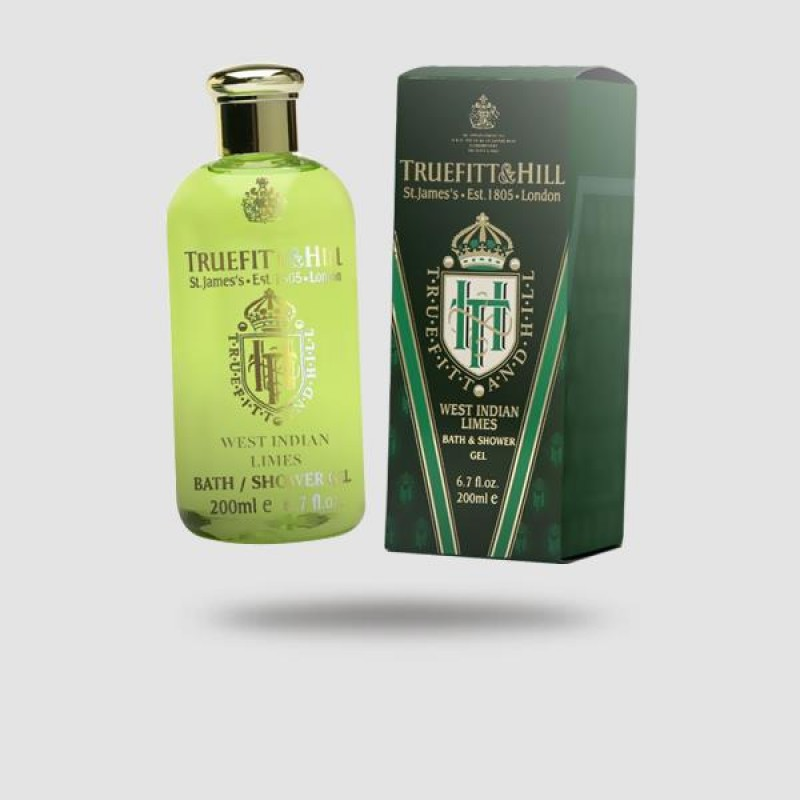 Αφρόλουτρο Τζελ - Truefitt And Hill - West Indian Limes 200ml