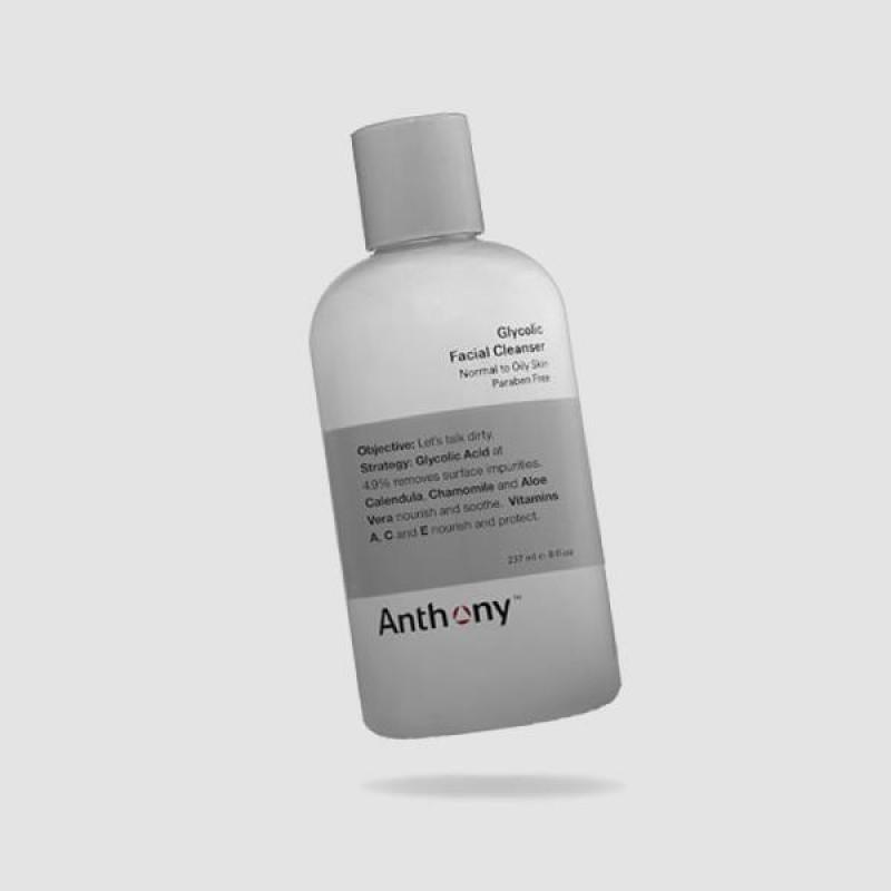 Καθαριστικό Προσώπου - Anthony - Με Γλυκολικο Οξύ 237ml