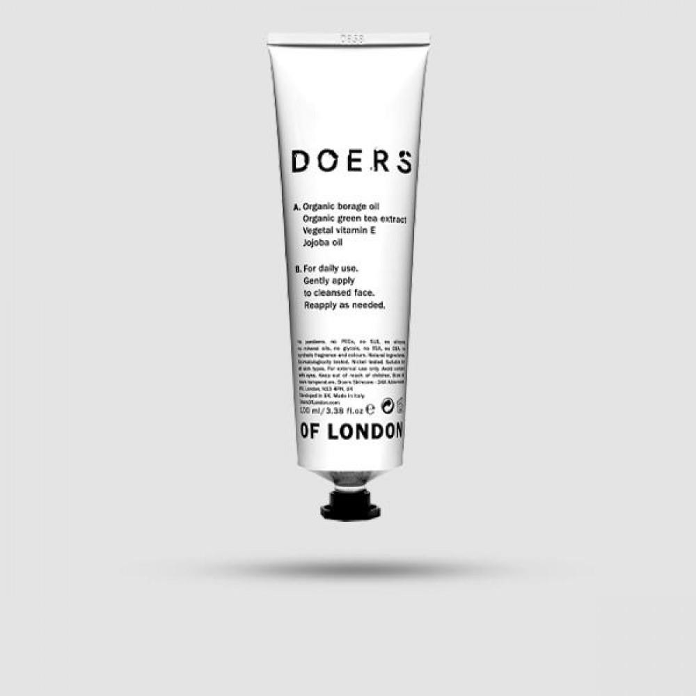 Ενυδατική Κρέμα Προσώπου - Doers Of London - Vegan Hydrating 100ml