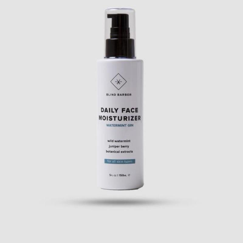 Ενυδατική Κρέμα Προσώπου - Blind Barber - Watermint Gin 150ml | 5 fl.oz.