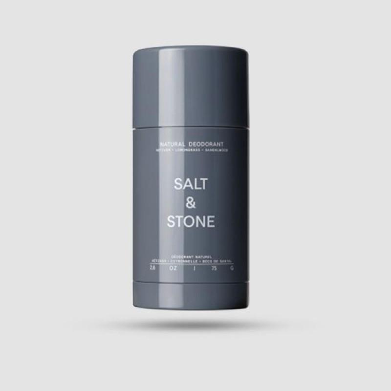 Αποσμητικό - Salt and Stone - Vetiver & Σανδαλόξυλο 75g