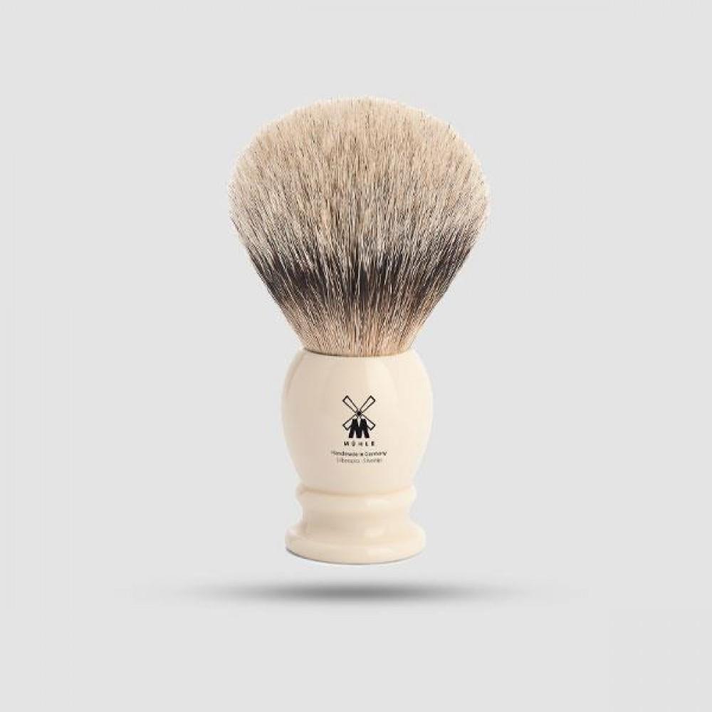 Πινέλο Ξυρίσματος Ασβού - Muhle - 95 K 257, Silvertip Badger