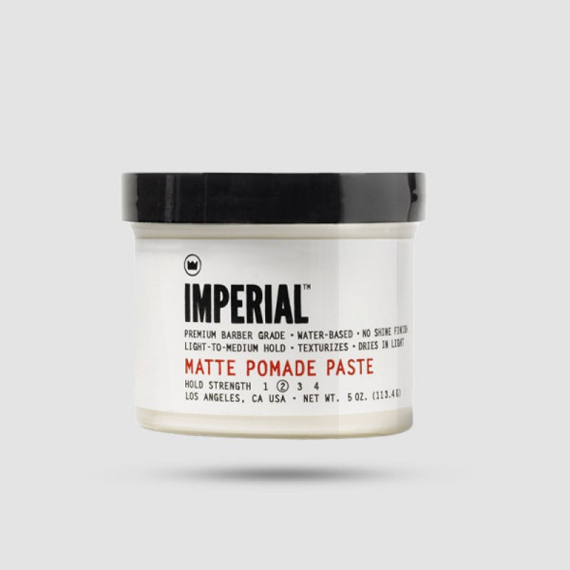 Πομάδα Για Μαλλιά - Imperial Barbers - Matte Pomade Paste 118 ml