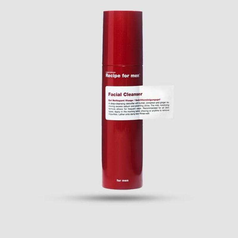 Καθαριστικό Προσώπου - Recipe For Men - 100 ml