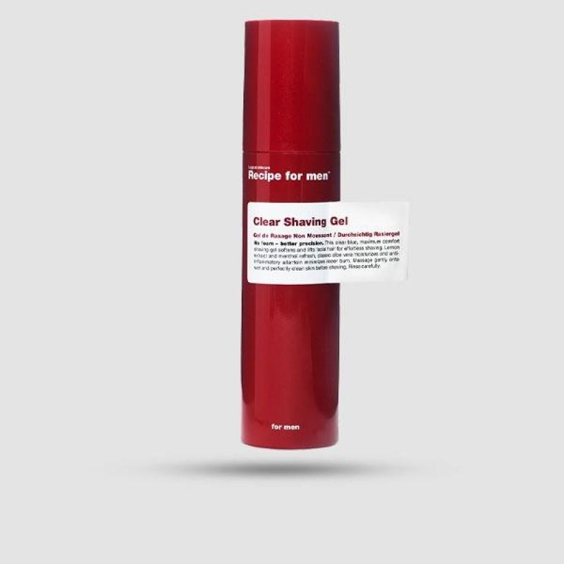 Τζελ Ξυρίσματος - Recipe For Men - Clear 100ml