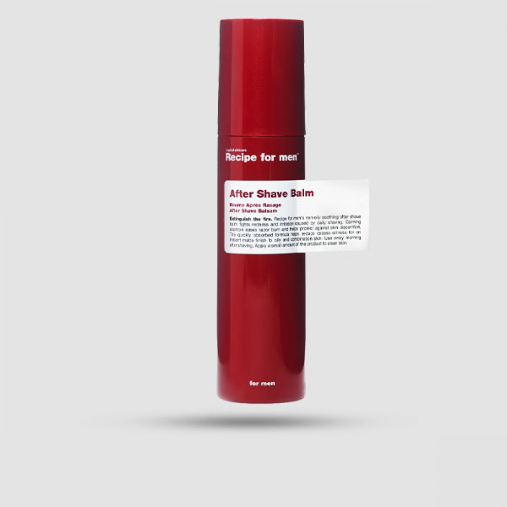 After Shave Balm - Recipe For Men - 100ml