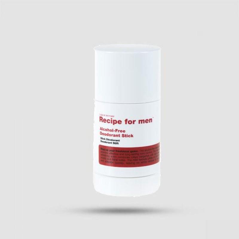 Αποσμητικό Stick - Recipe For Men - Alcohol Free 60ml