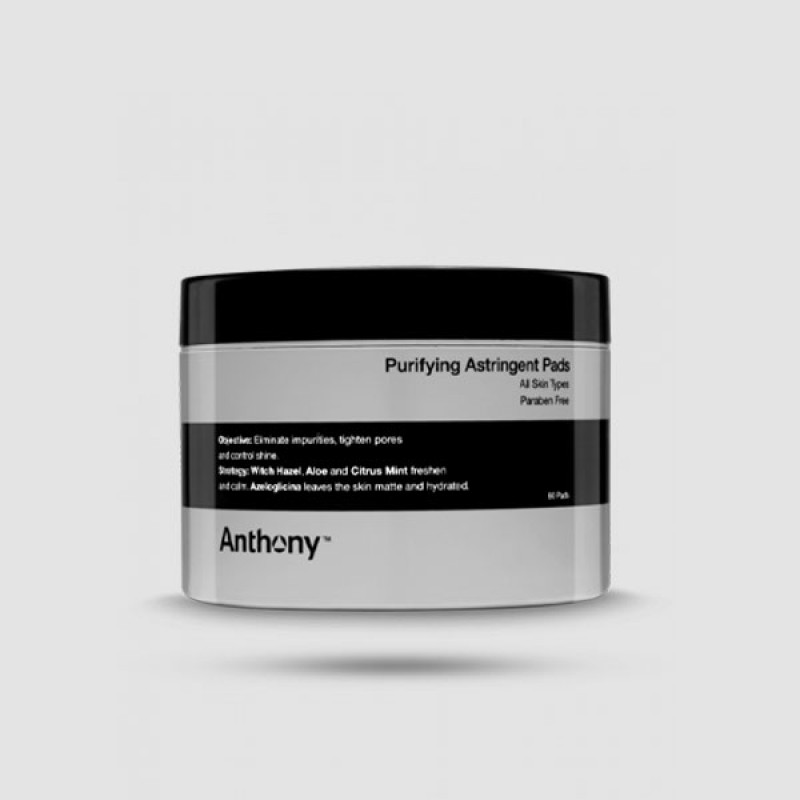 60 Pads Καθαρισμού - Anthony -