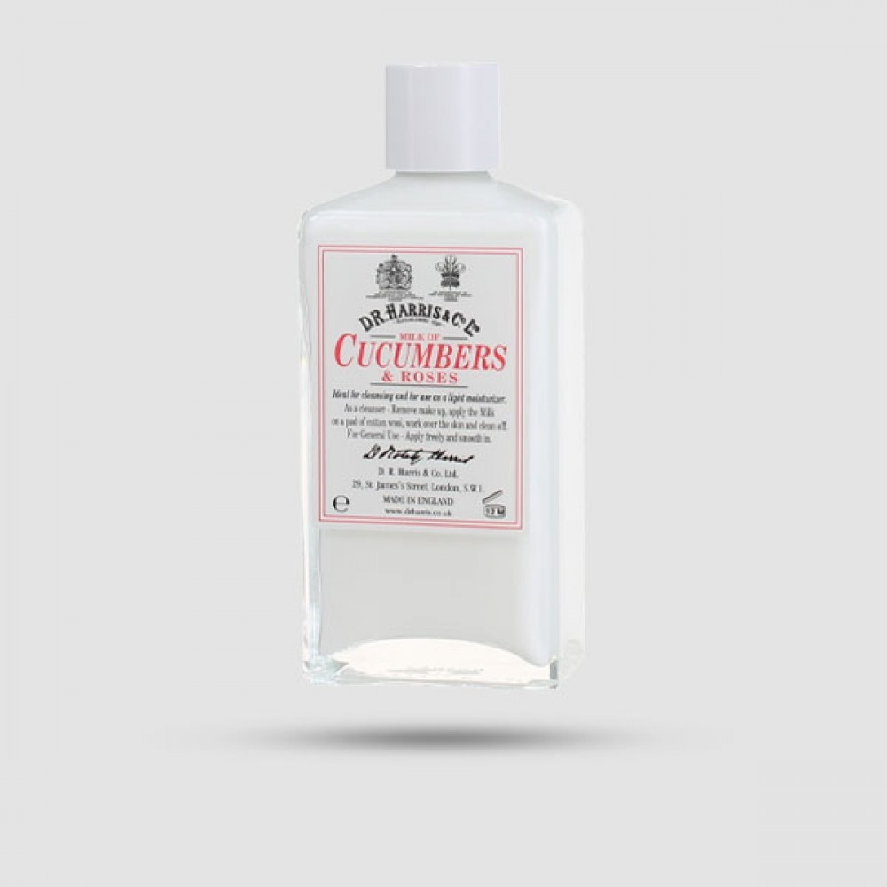 Ενυδατική Κρέμα Προσώπου - D.r Harris - Cucumber & Roses 100ml
