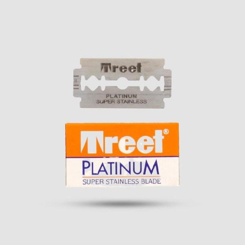 Ανταλλακτικές Λεπίδες Ξυρίσματος - Treet - Platinum Super Stainless 1 X 10