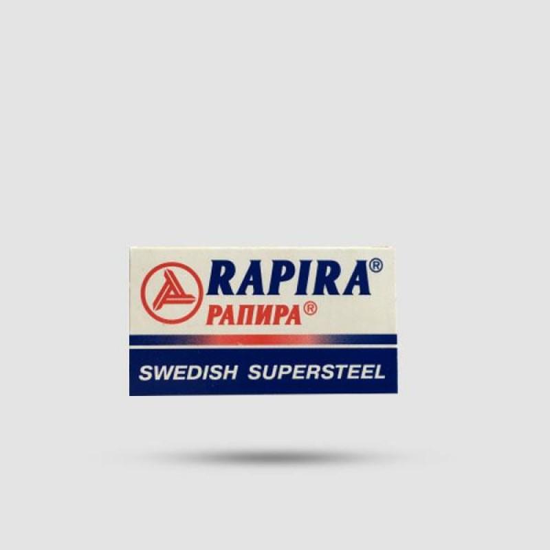 Ανταλλακτικές Λεπίδες Ξυρίσματος - Rapira - Sweedish Supersteel 1 X 5