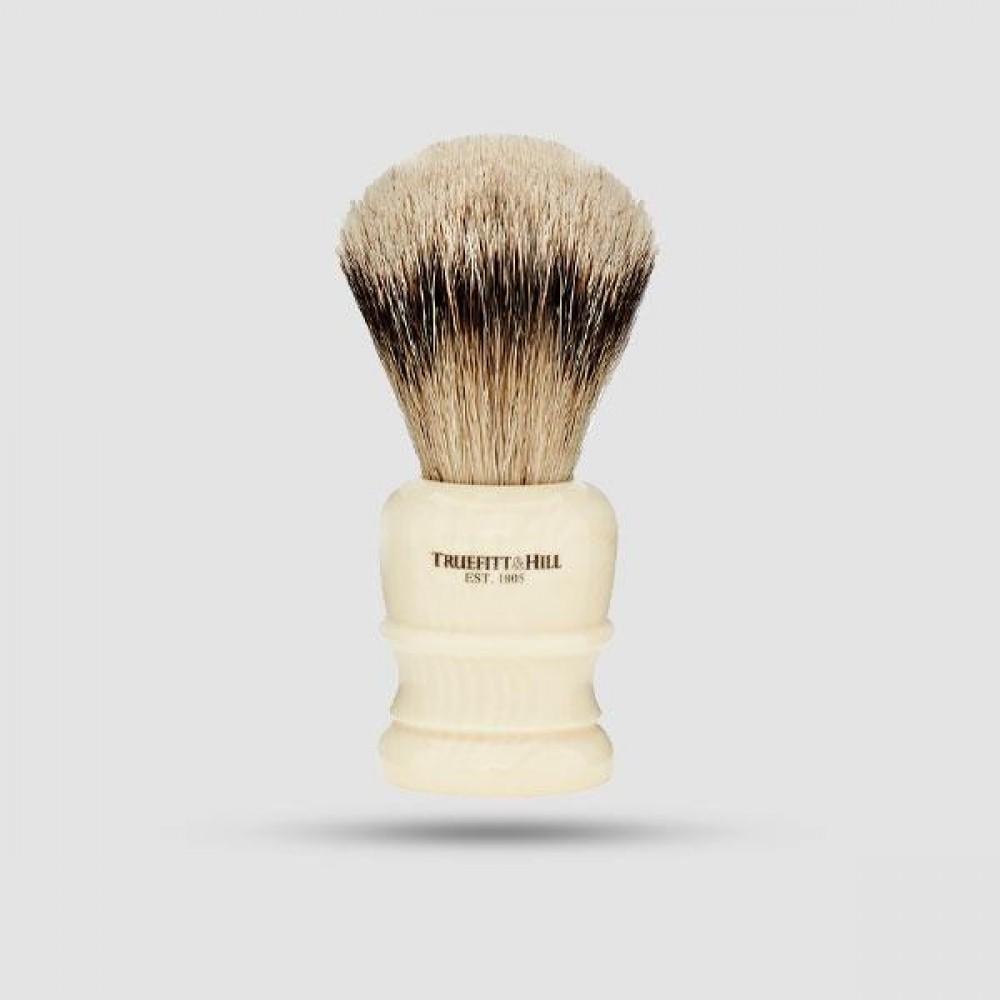 Πινέλο Ξυρίσματος  Ασβού - Truefitt And Hill -  Super Badger Ivory Wellington