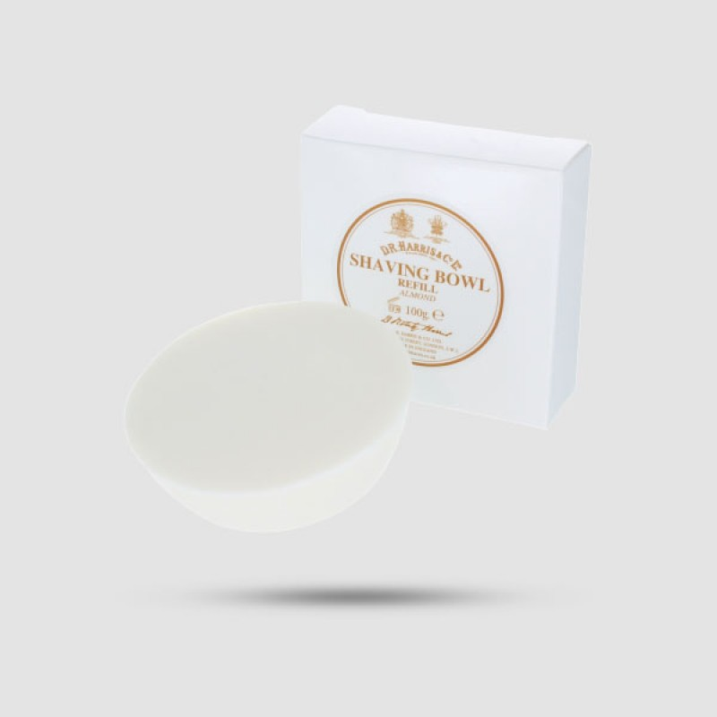 Ανταλλακτικό Σαπούνι Ξυρίσματος - D. R. Harris - Με Άρωμα Αμυγδάλου 100g