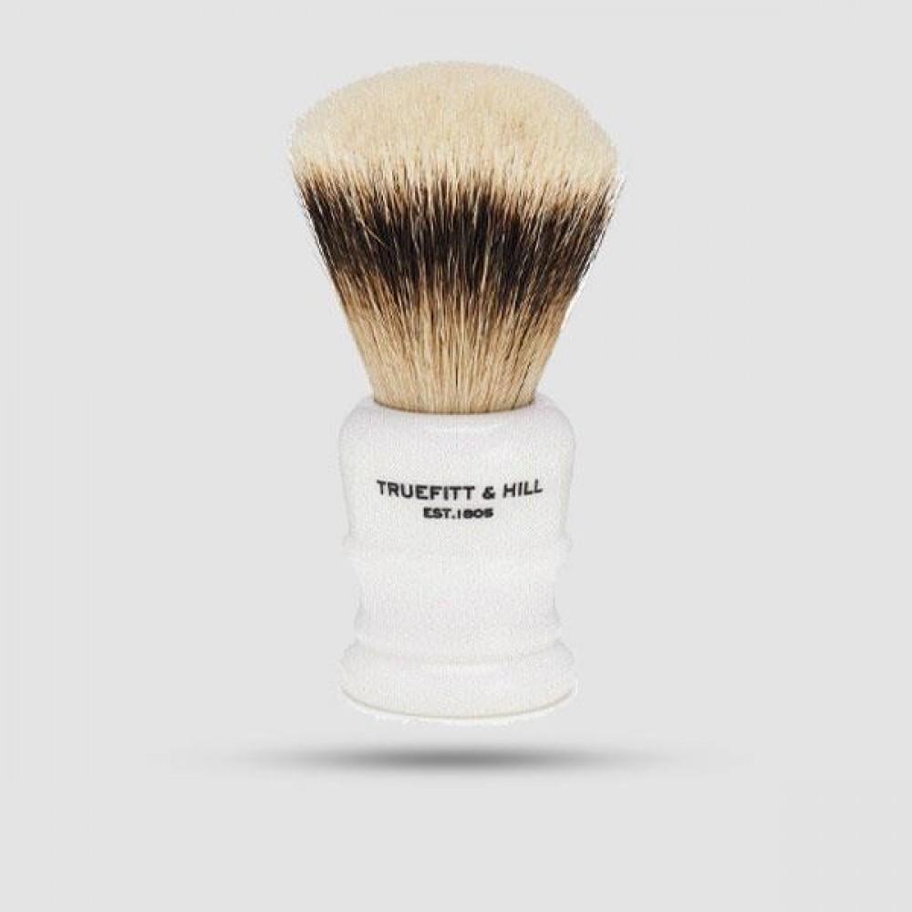Πινέλο Ξυρίσματος  Ασβού - Truefitt And Hill - Silvertip Badger Wellington Porcelain