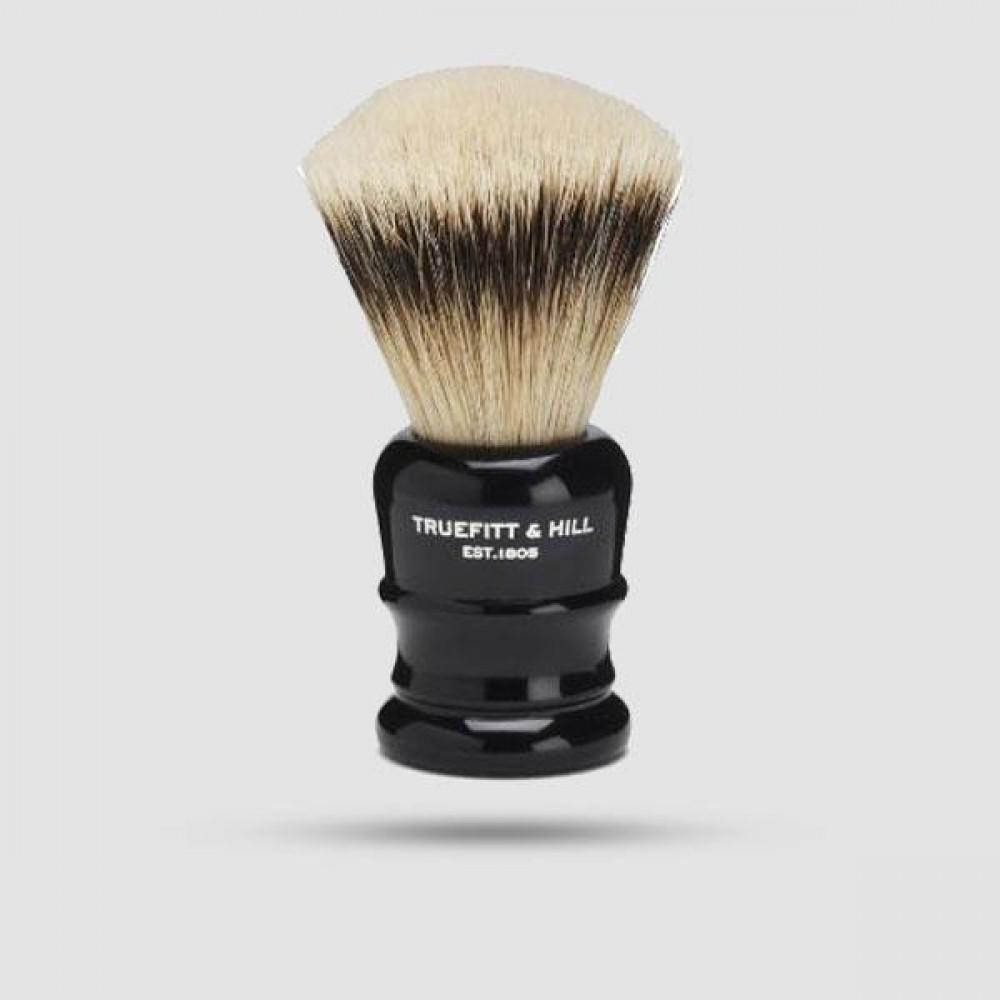 Πινέλο Ξυρίσματος  Ασβού - Truefitt And Hill - Silvertip Badger Wellington Ebony