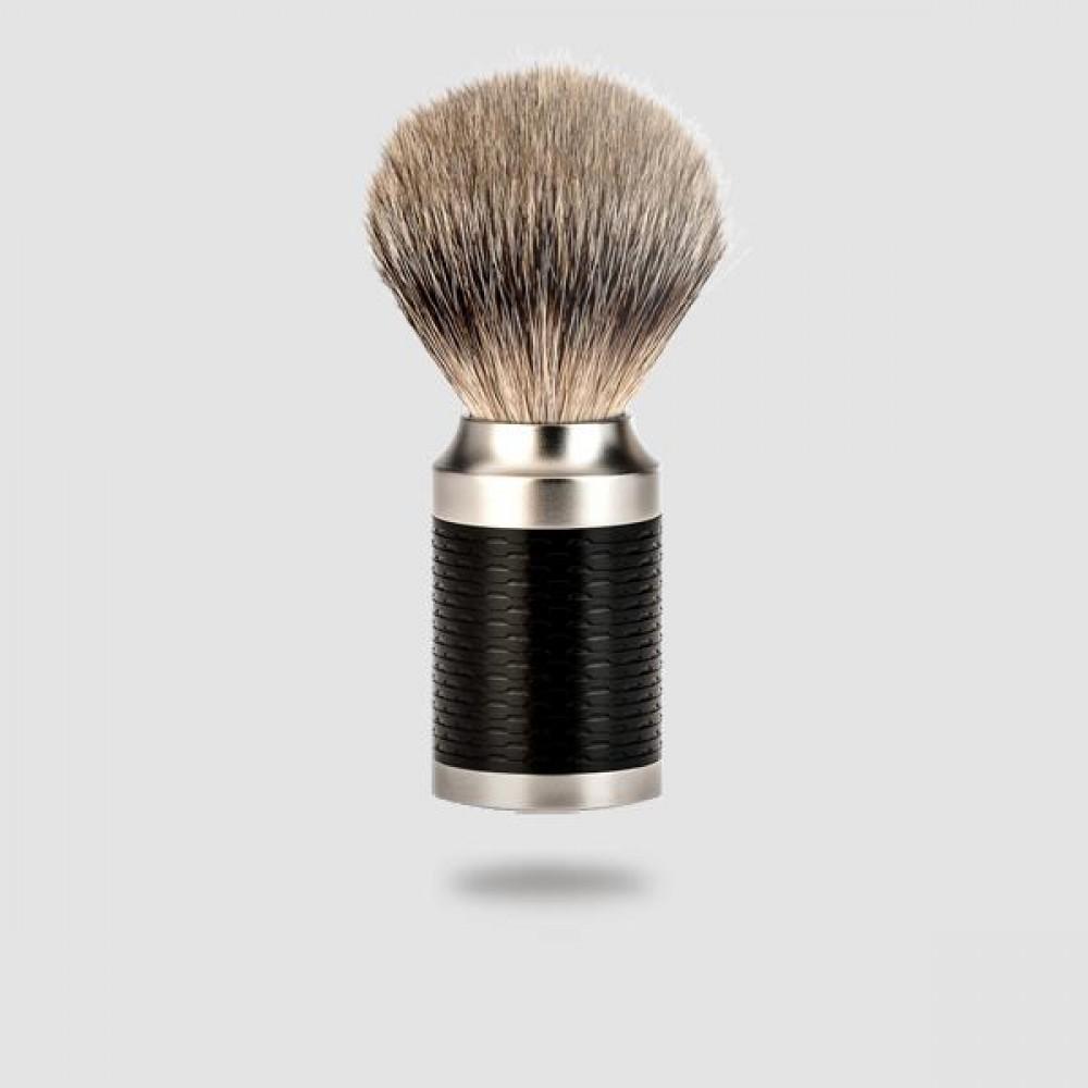 Πινέλο Ξυρίσματος Ασβού - Muhle - 091 M 96, Silvertip Badger