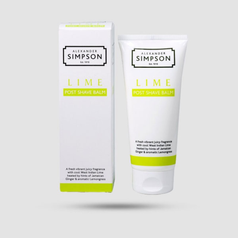After Shave Balm - Simpsons - Lime 100ml