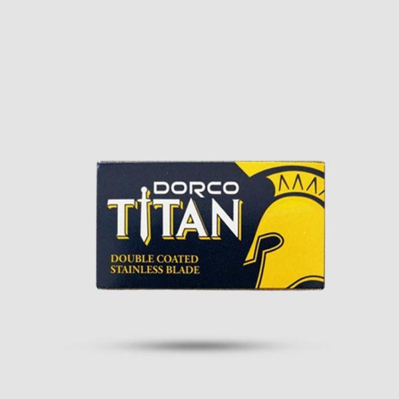 Λεπίδες Για Ξύρισμα - Dorco - Titan 1 X 10 Τεμάχια