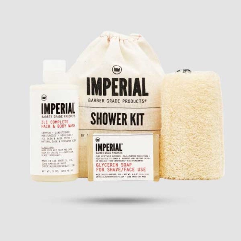 Shower Kit - Imperial Barbers - 3:1