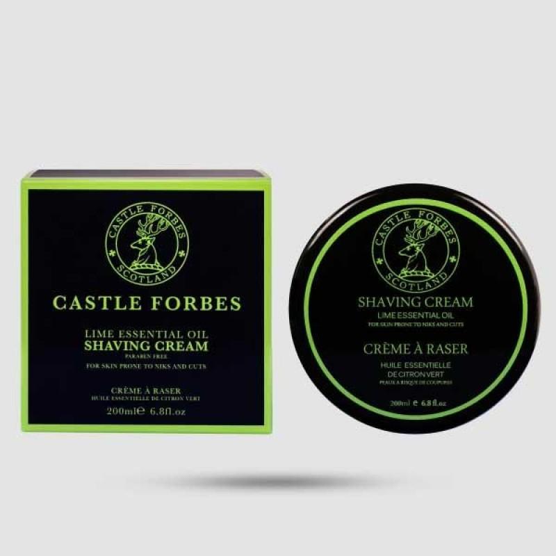 Κρέμα Ξυρίσματος - Castle Forbes - Lime Oils 200ml