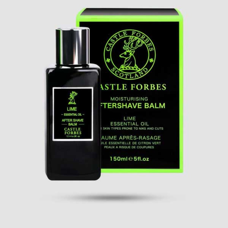 After Shave Balm - Castle Forbes - Lime 150ml