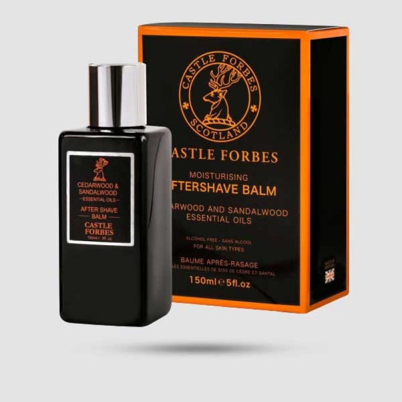 After Shave Balm - Castle Forbes - Κέδρος - Σανδαλόξυλο 150ml