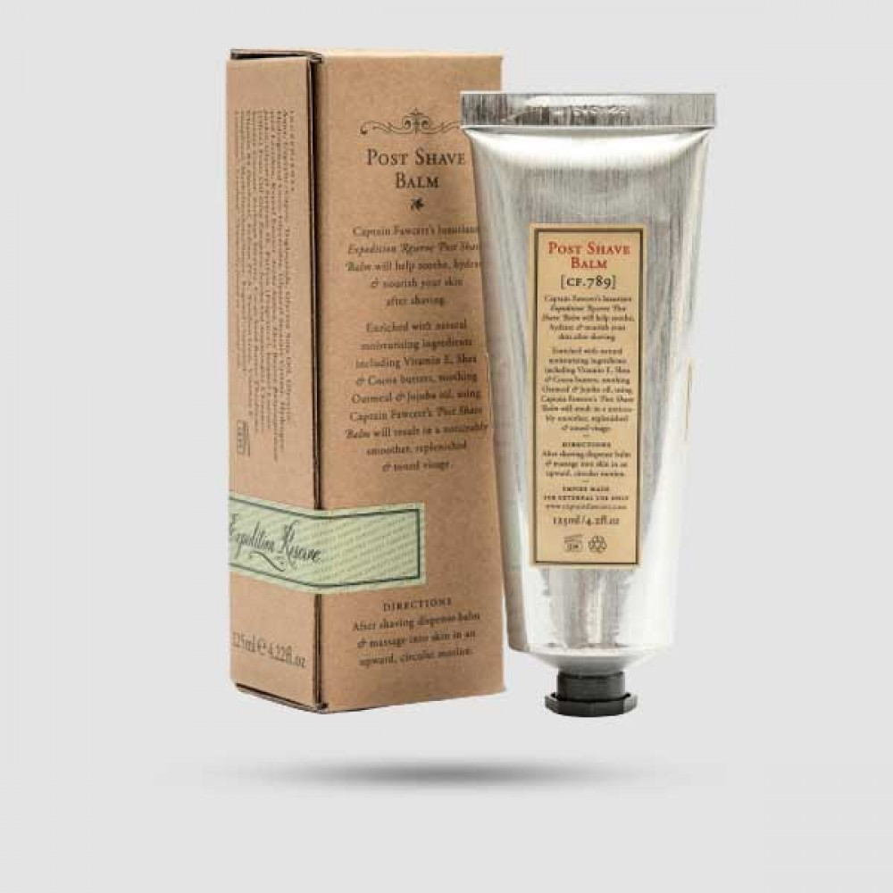 After Shave Balm - Captain Fawcett - 'Expedition Reserve'  125ml / 4.22 fl.oz