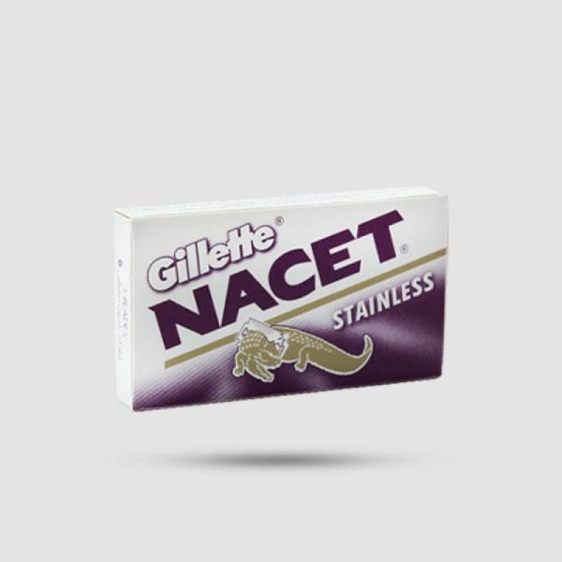 Ανταλλακτικές Λεπίδες Ξυρίσματος - Gillette - Nacet 1 X 5