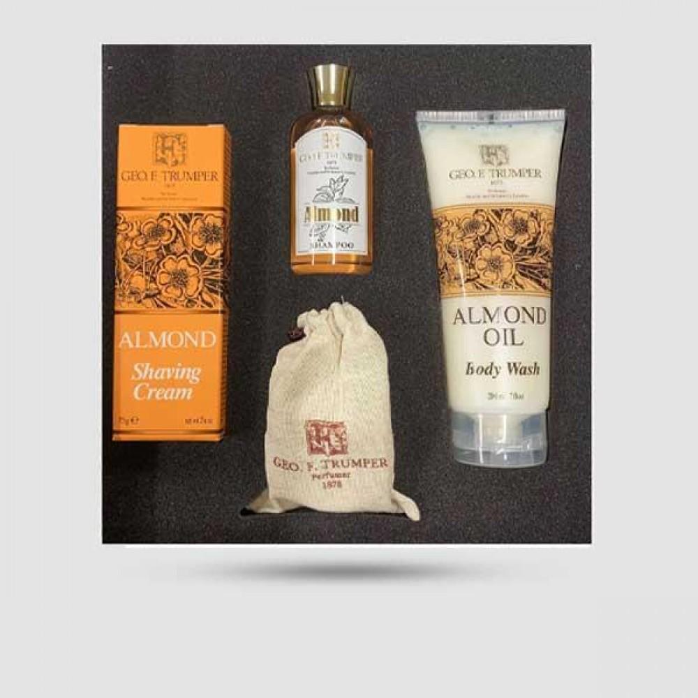 Range Gift Sets - Geo F. Trumper - Almond