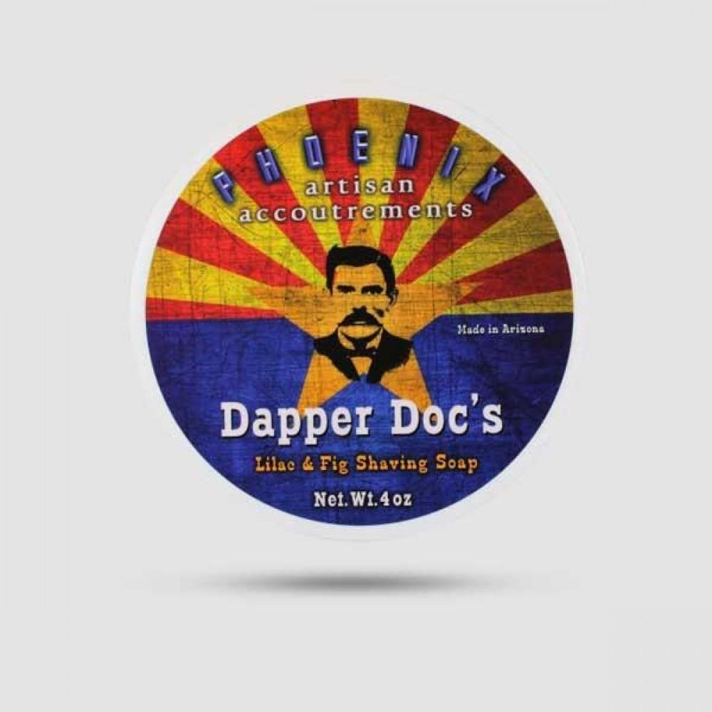 Σαπούνι Ξυρίσματος - Phoenix Artisan - Dapper Doc 114g