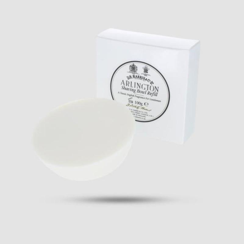 Ανταλλακτικό Σαπούνι Ξυρίσματος - D. R. Harris - Arlington 100g