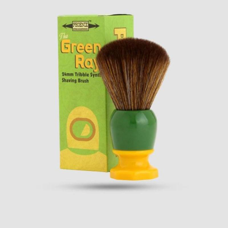 Shaving Brush - Phoenix Artisan - Synthetic The Green Ray - 24mm