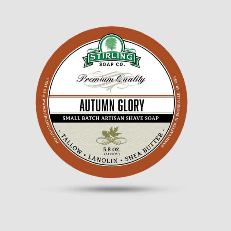 Σαπούνι Ξυρίσματος - Stirling Soap Company - Autumn Glory 170ml