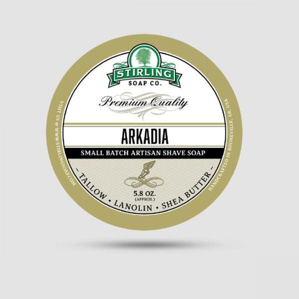 Σαπούνι Ξυρίσματος - Stirling Soap Company - Arkadia 170ml