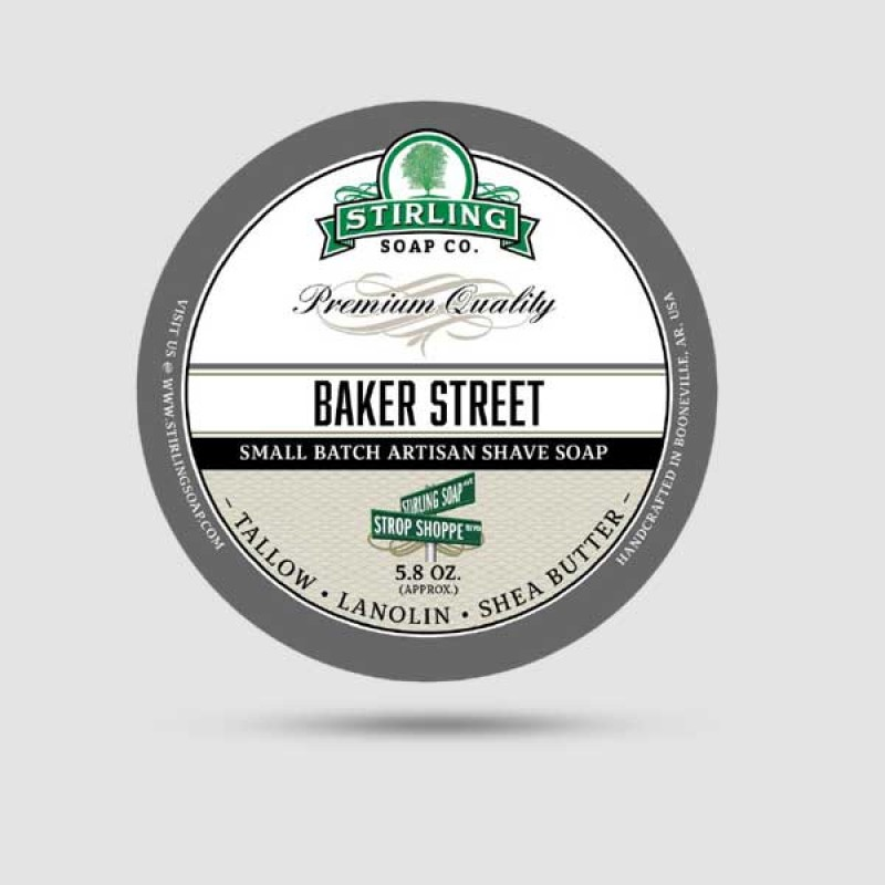 Σαπούνι Ξυρίσματος - Stirling Soap Company - Baker Street 170ml