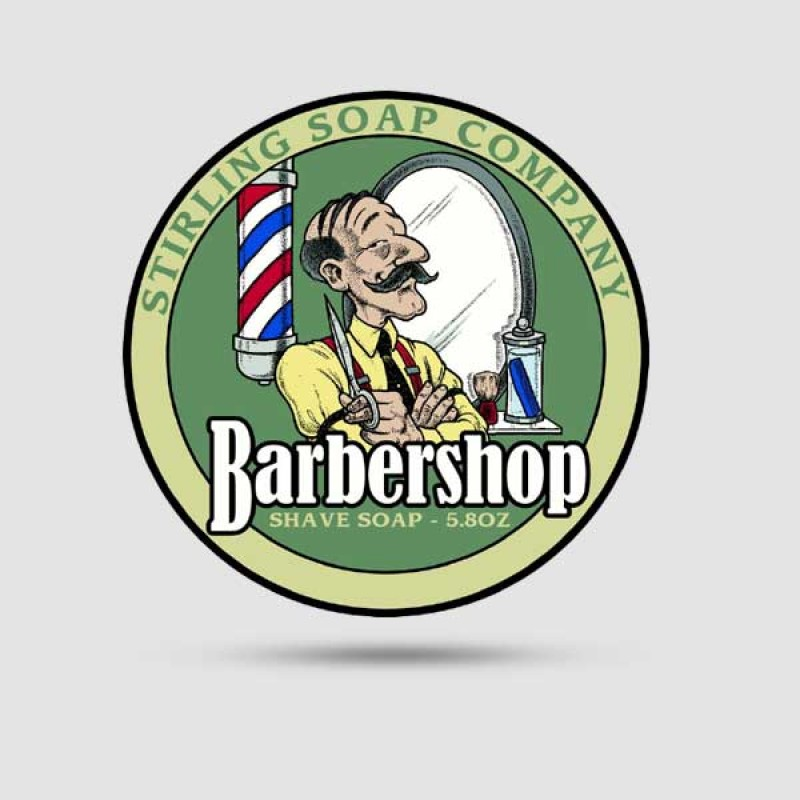 Σαπούνι Ξυρίσματος - Stirling Soap Company - Barbershop 170ml
