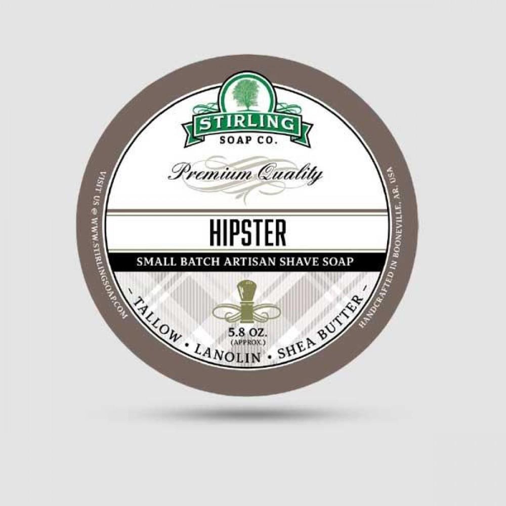Σαπούνι Ξυρίσματος - Stirling Soap Company - Hipster 170ml