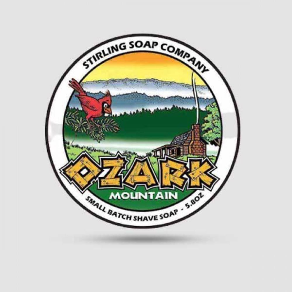 Σαπούνι Ξυρίσματος - Stirling Soap Company - Ozark Mountain 170ml